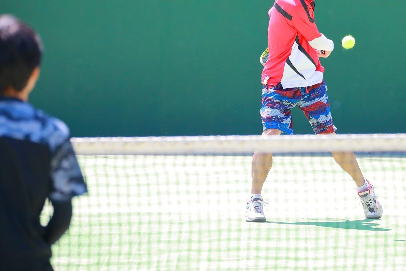 テニスの打ちっぱなしができる東京の練習場