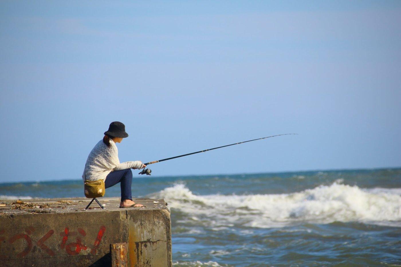 釣りガール (女子)の 服装ならこれが可愛いと思う!