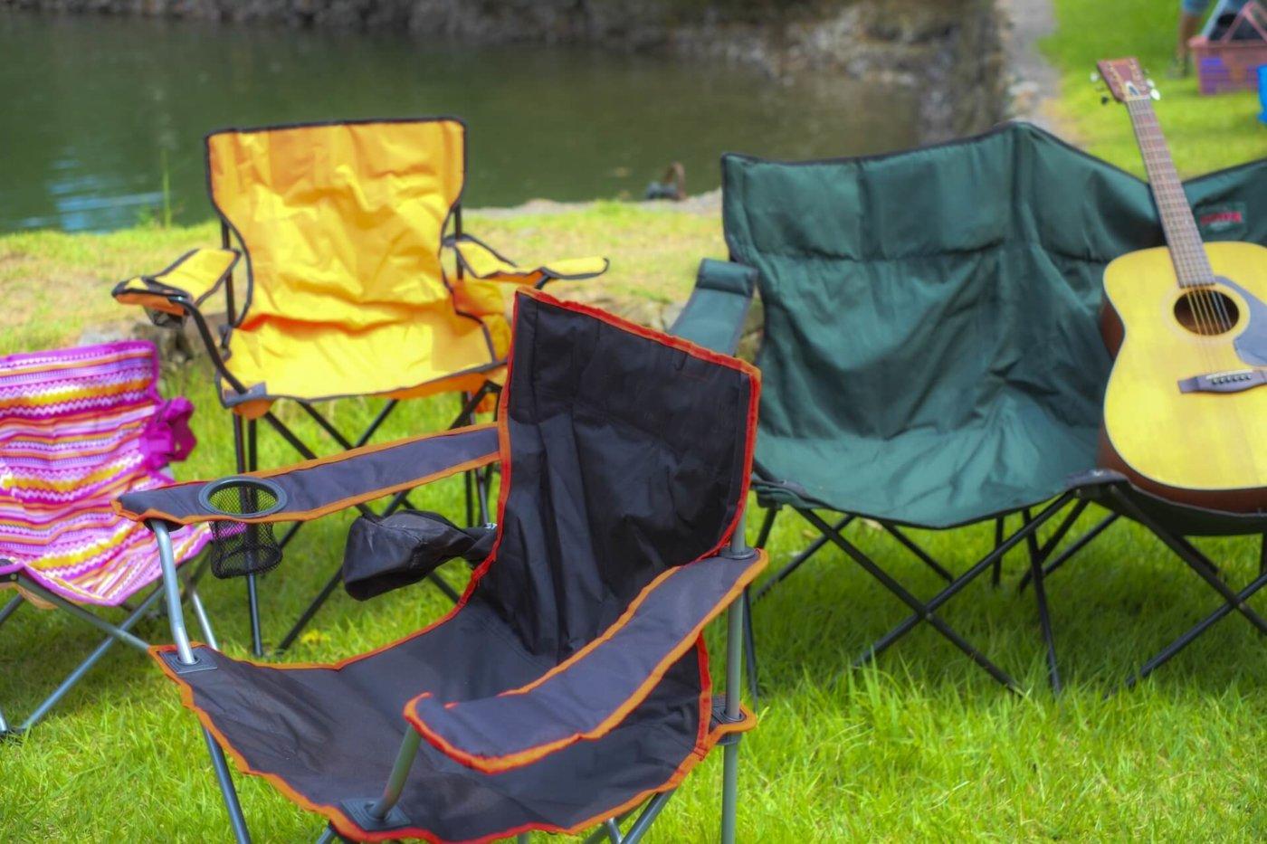キャンプで活躍する椅子