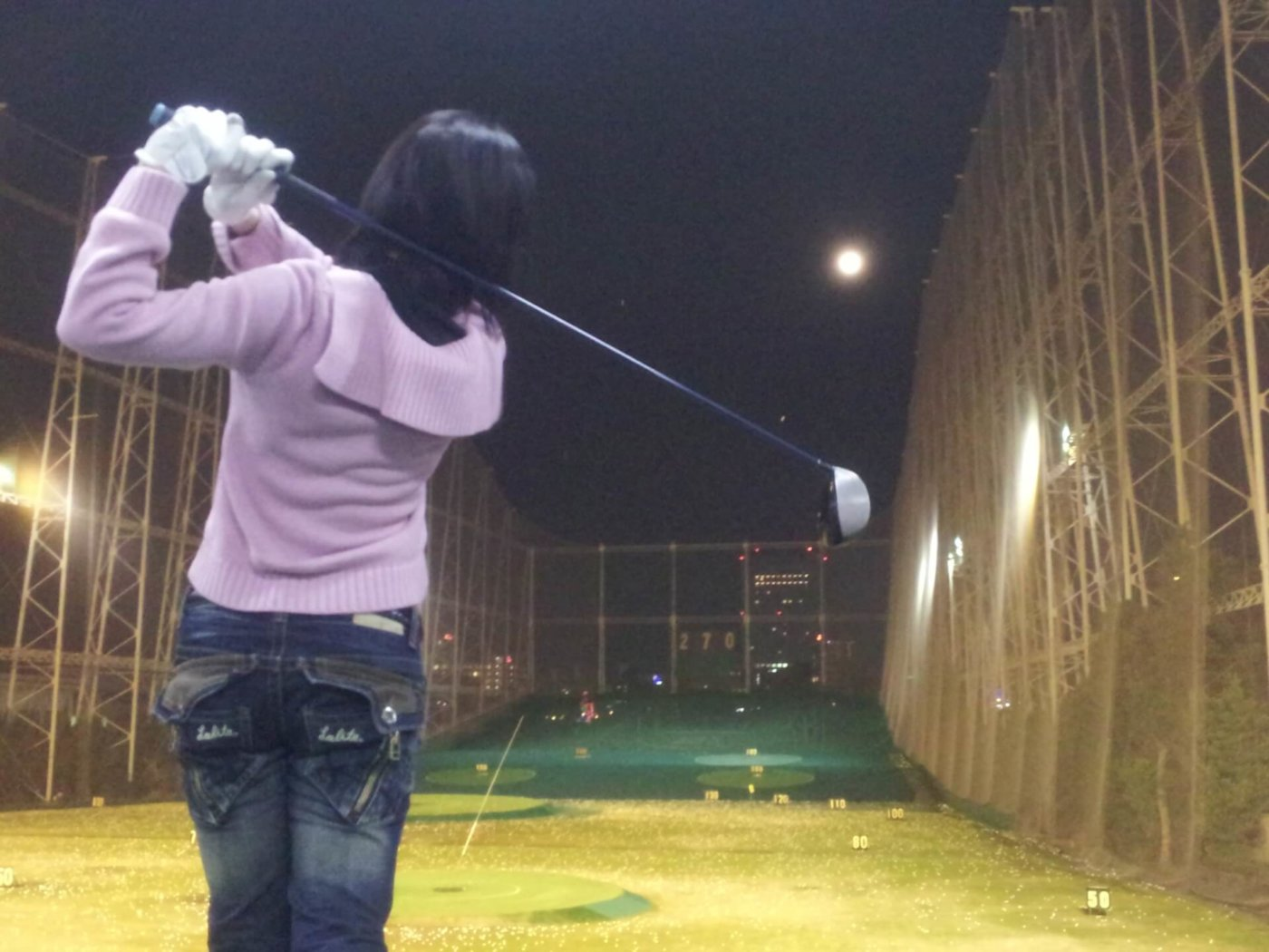 ゴルフのレッスンを受けよう