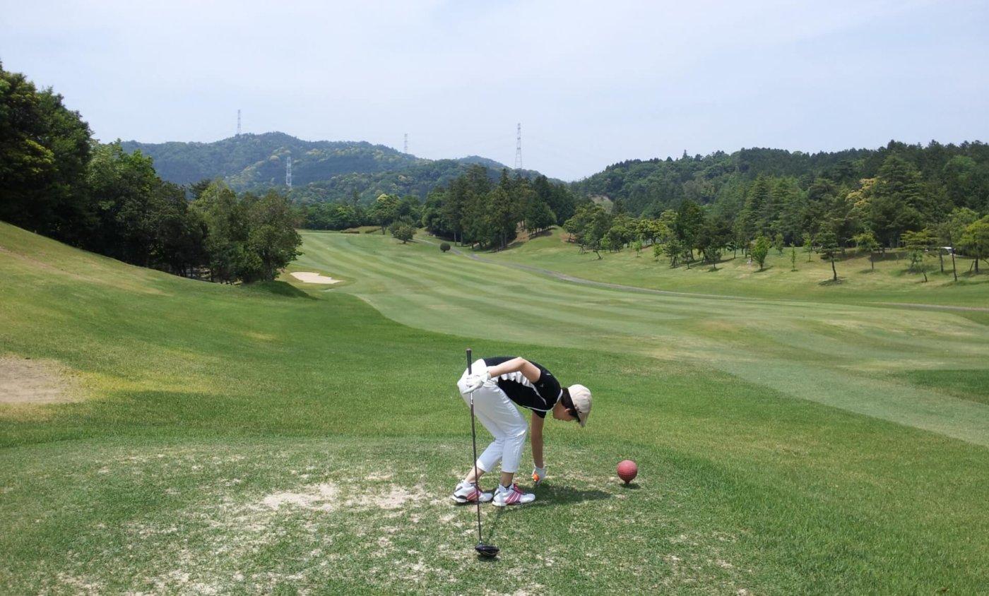 ゴルフのショートコース