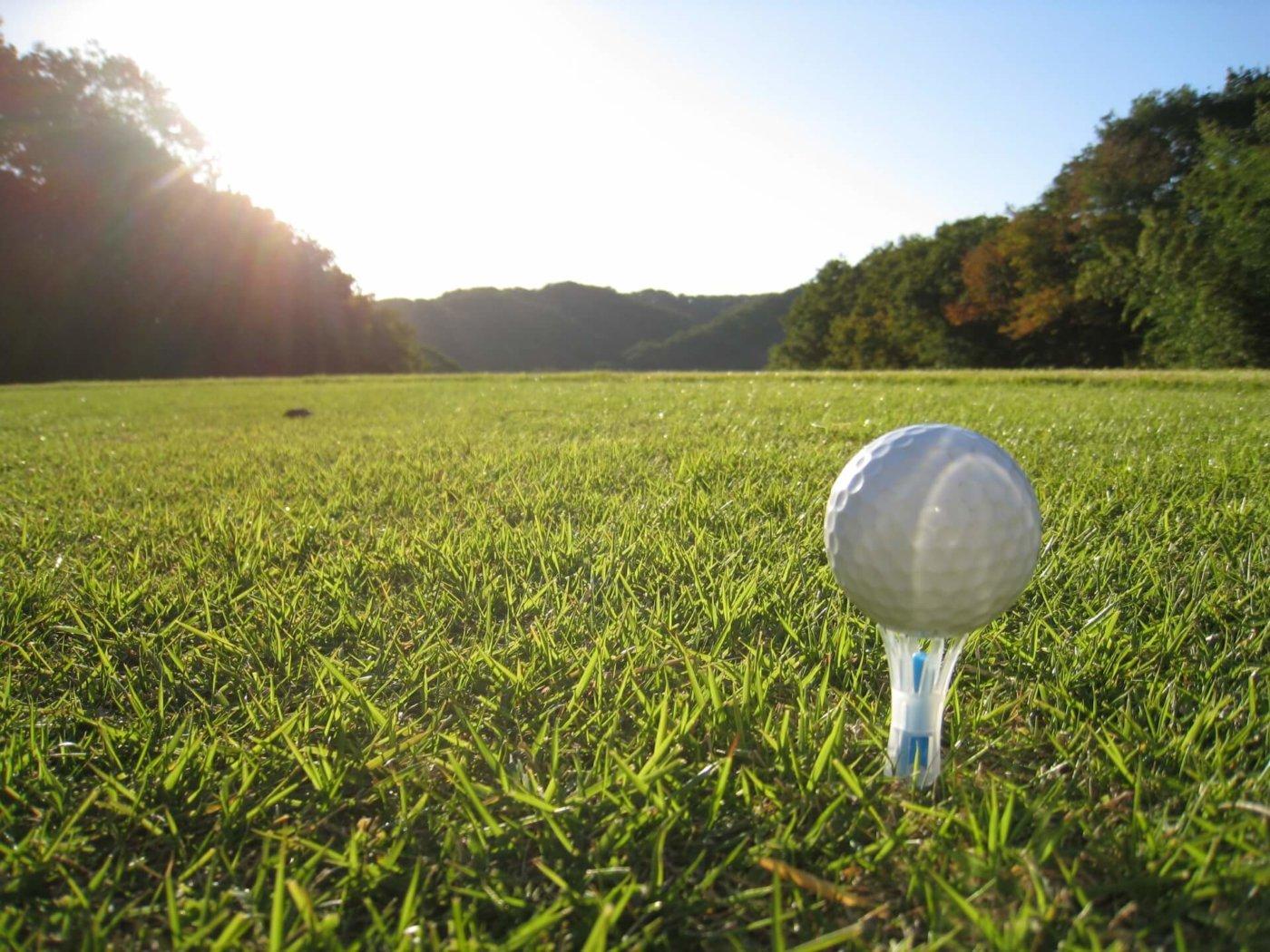 銀座でゴルフを楽しむ