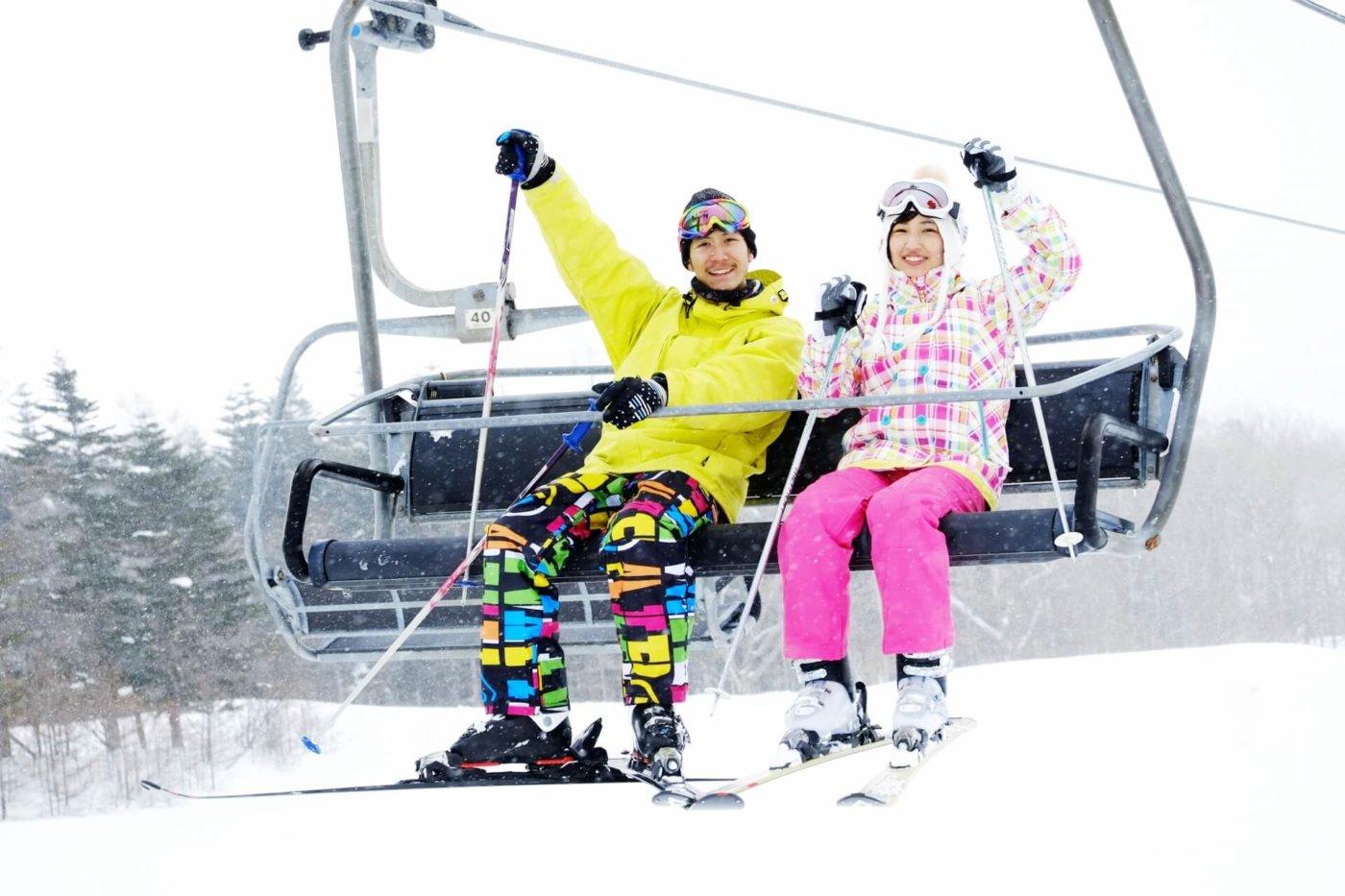 スキーにおすすめのウエア
