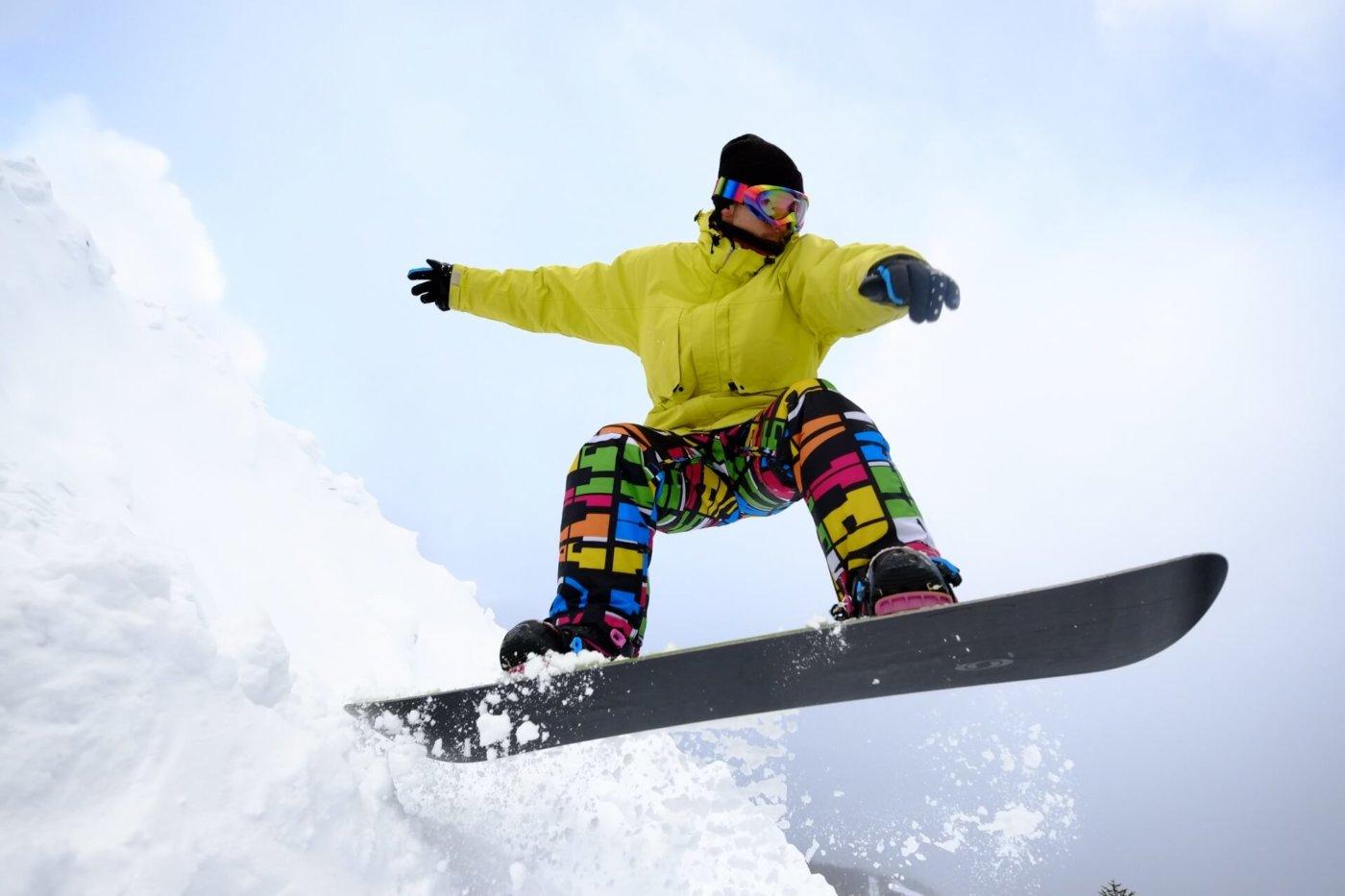 プロテクターはスノーボードの必需品