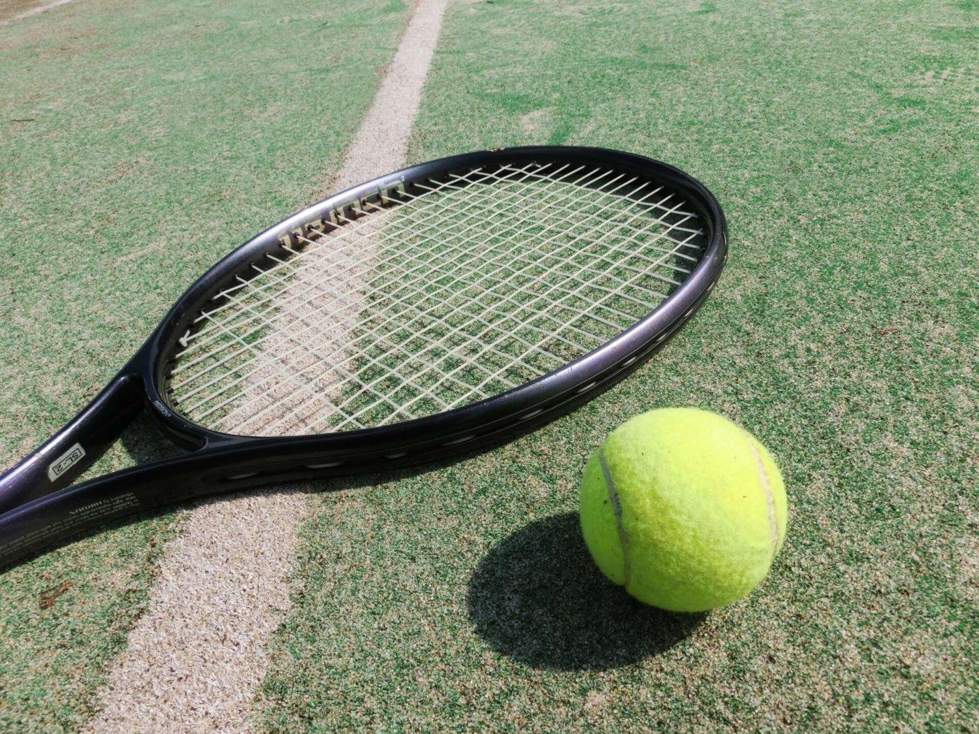 テニスの決勝戦を見よう