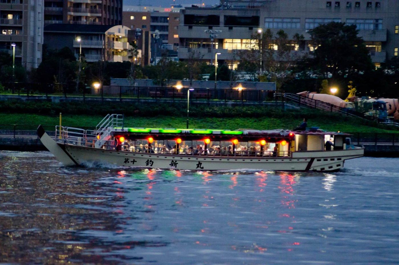 横浜で屋形船を貸切りましょう