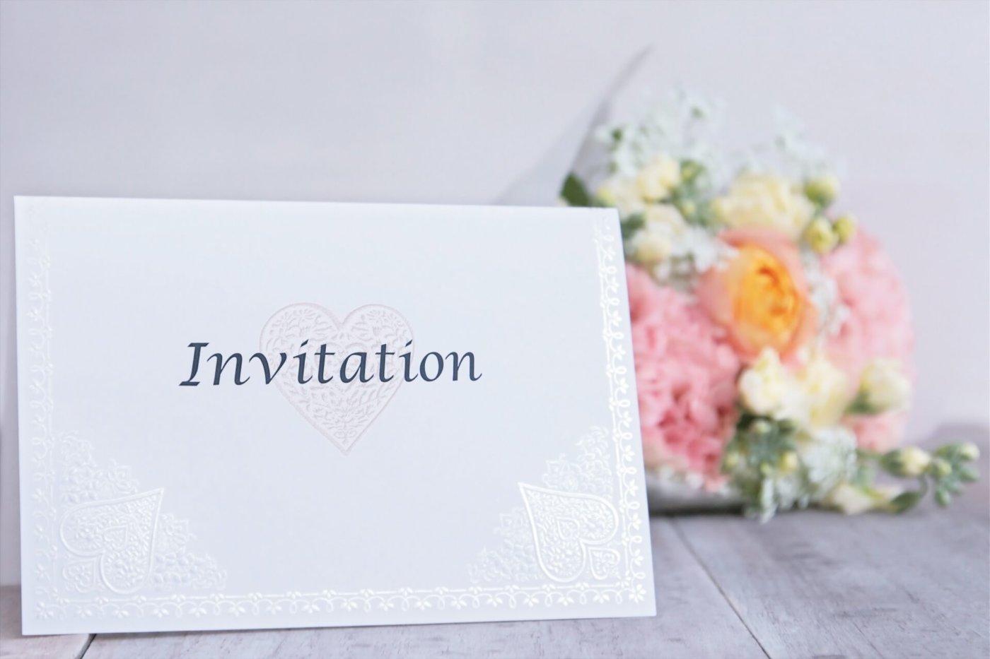 結婚式招待状用の切手とは?