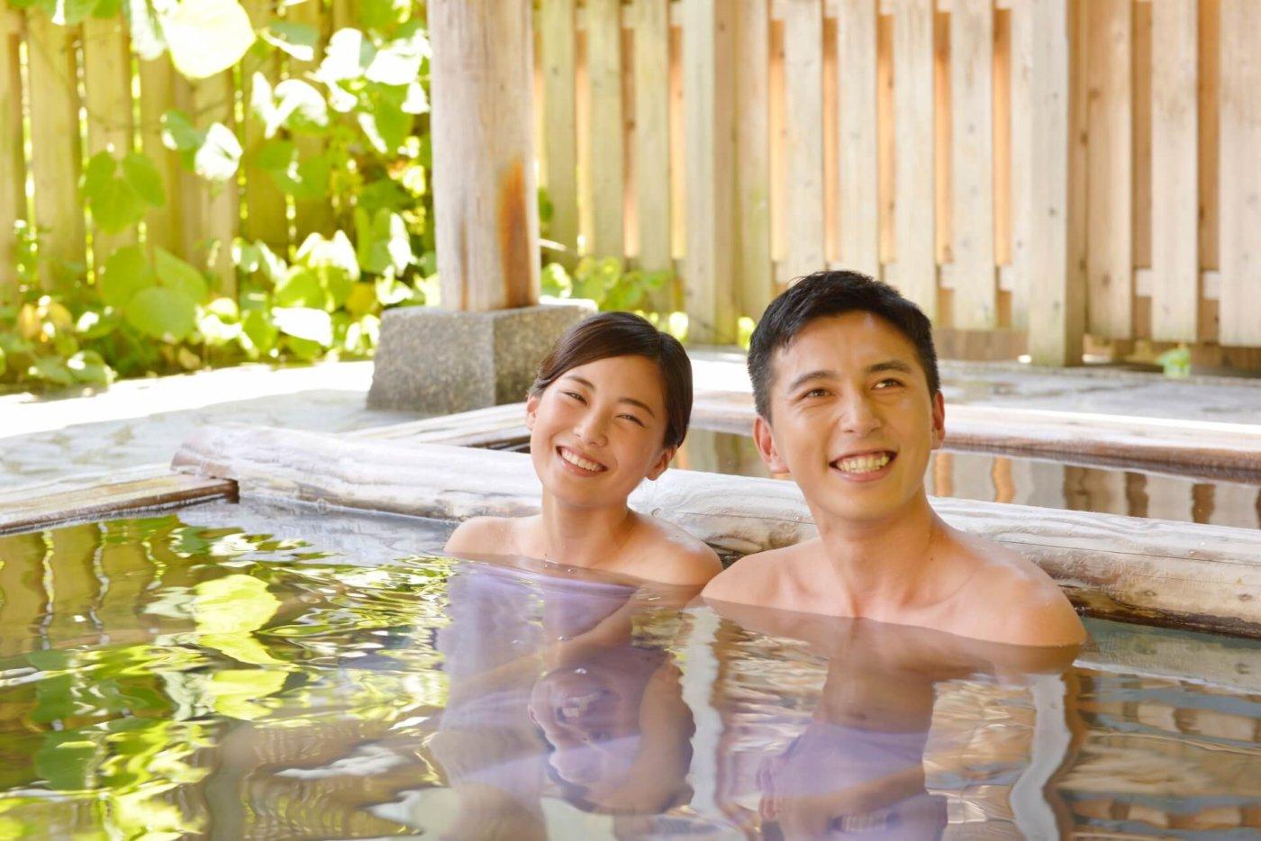 寒いときは温泉が良い!効能もいろいろあるよね?