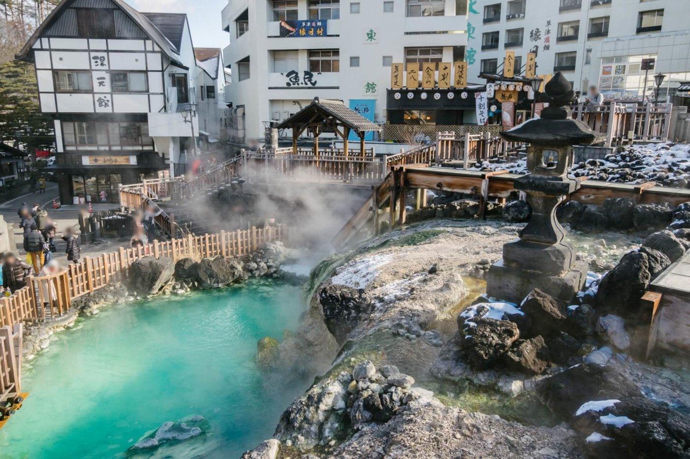 草津温泉の名所を訪ねよう!