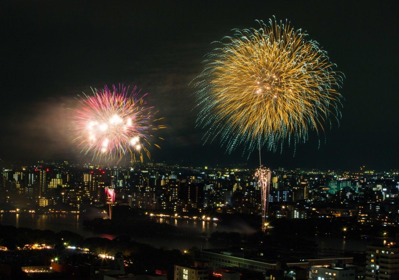 福岡県ならこの花火大会をおすすめします!福岡花火大会ランキング