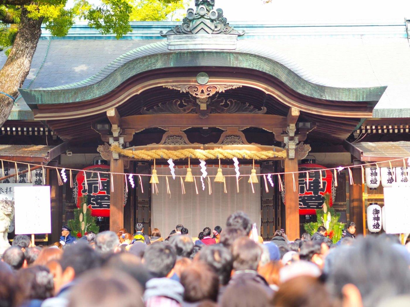 1年の始まり…、初詣で神様に今年の豊富を誓おう!【大阪偏】
