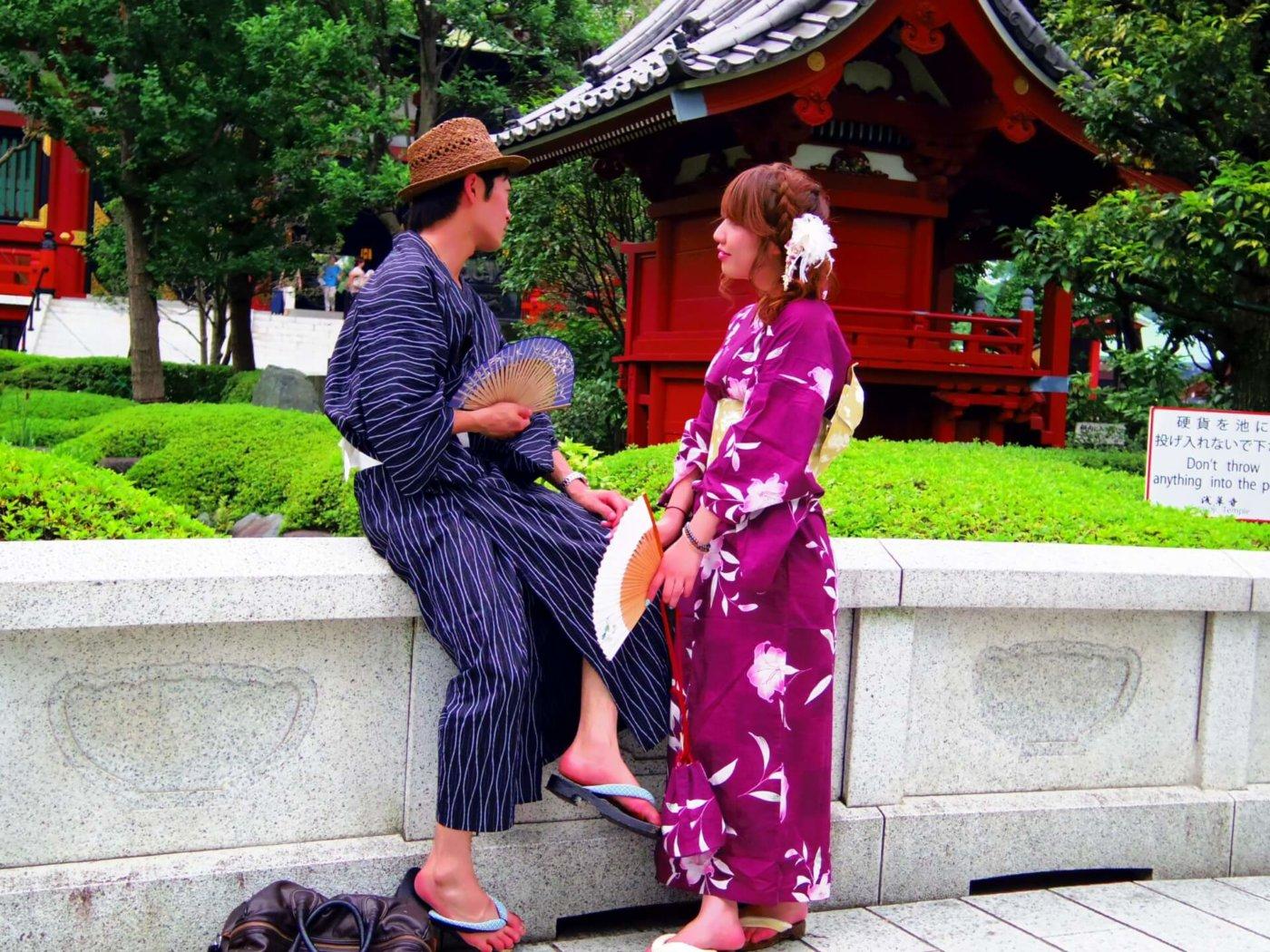 夏祭りに行く時には男性も服装を考えよう!