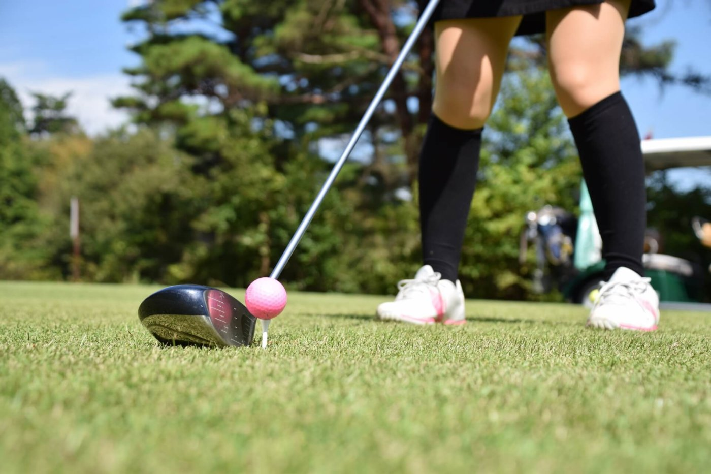 ゴルフの「ボールとの距離」