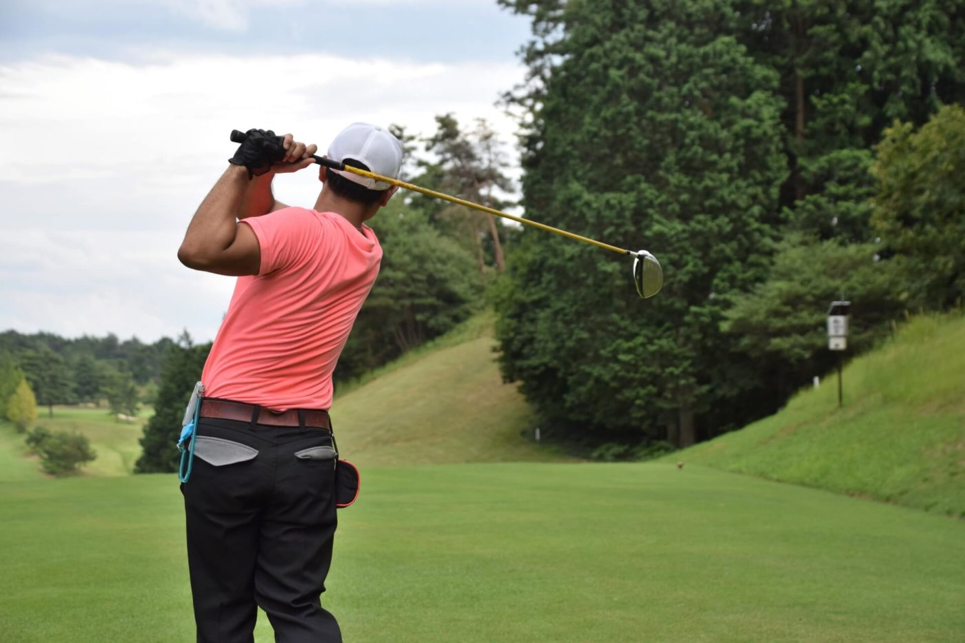 ゴルフをすると筋肉痛になります