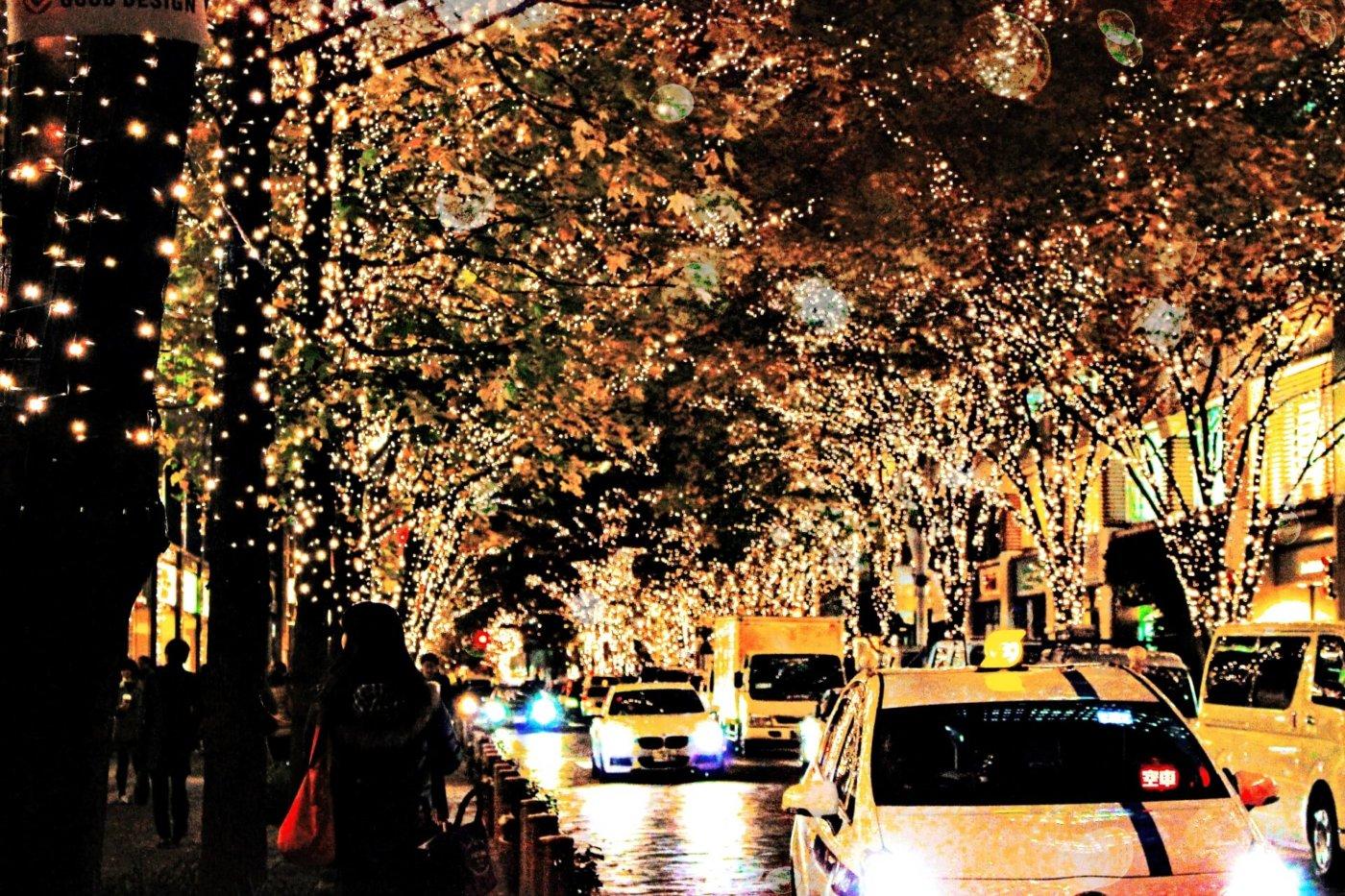 東京でイルミネーションを楽しみましょう!