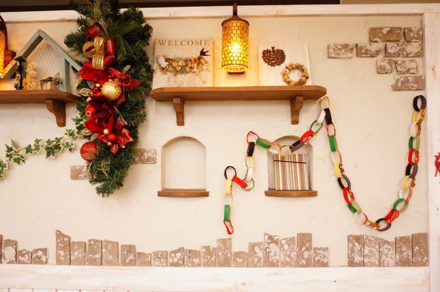 クリスマスに自宅の壁紙を簡単に飾りつけする方法 調整さん