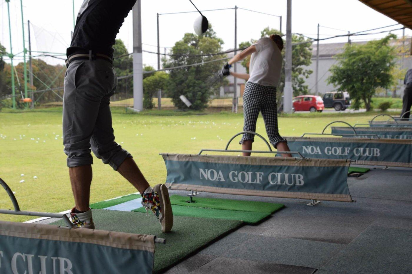 行きつけのゴルフ練習場を見つけておこう!