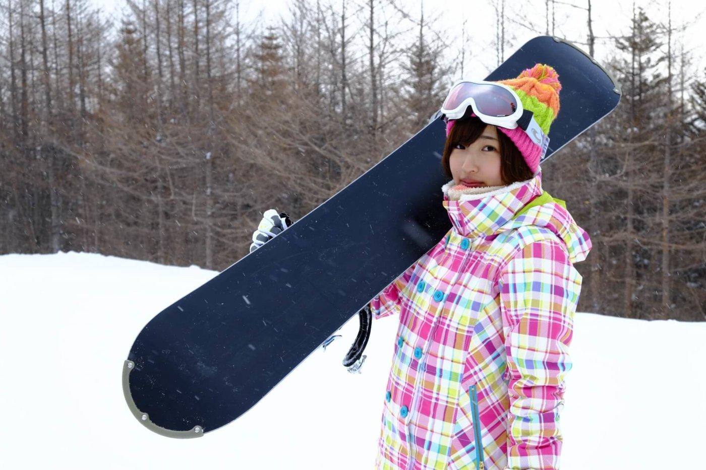 スノーボード女子におススメのメーカーはココ!
