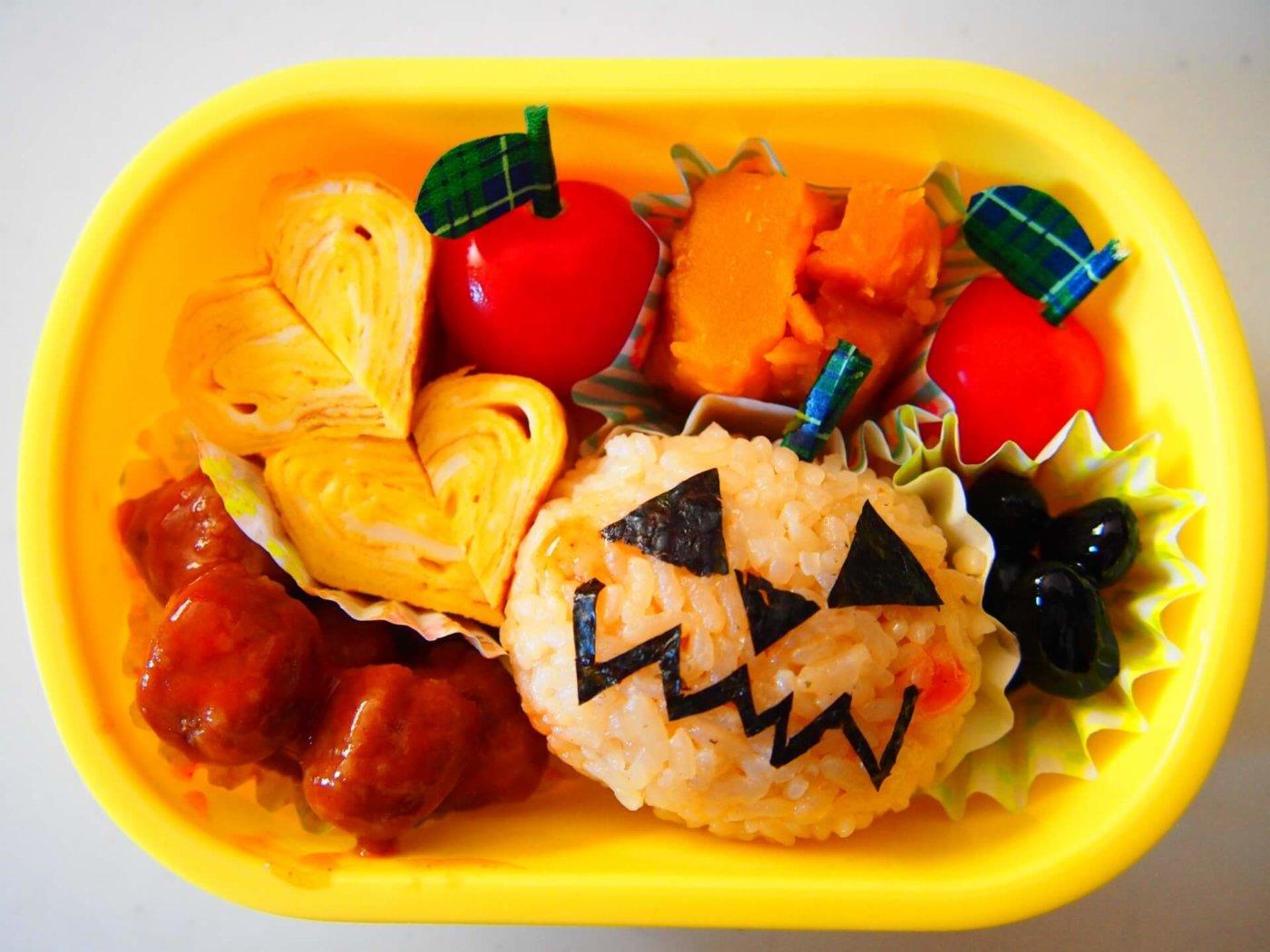 ハロウィン弁当は簡単!応用しやすい食材でハロウィン弁当の作り方