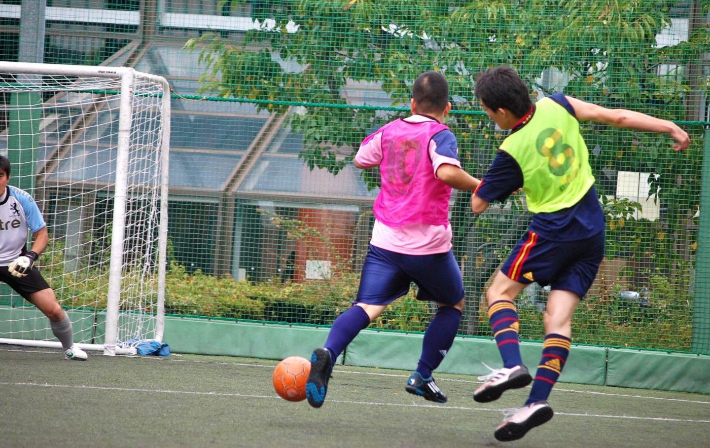 フットサルはサッカー以上のテクニックが必要
