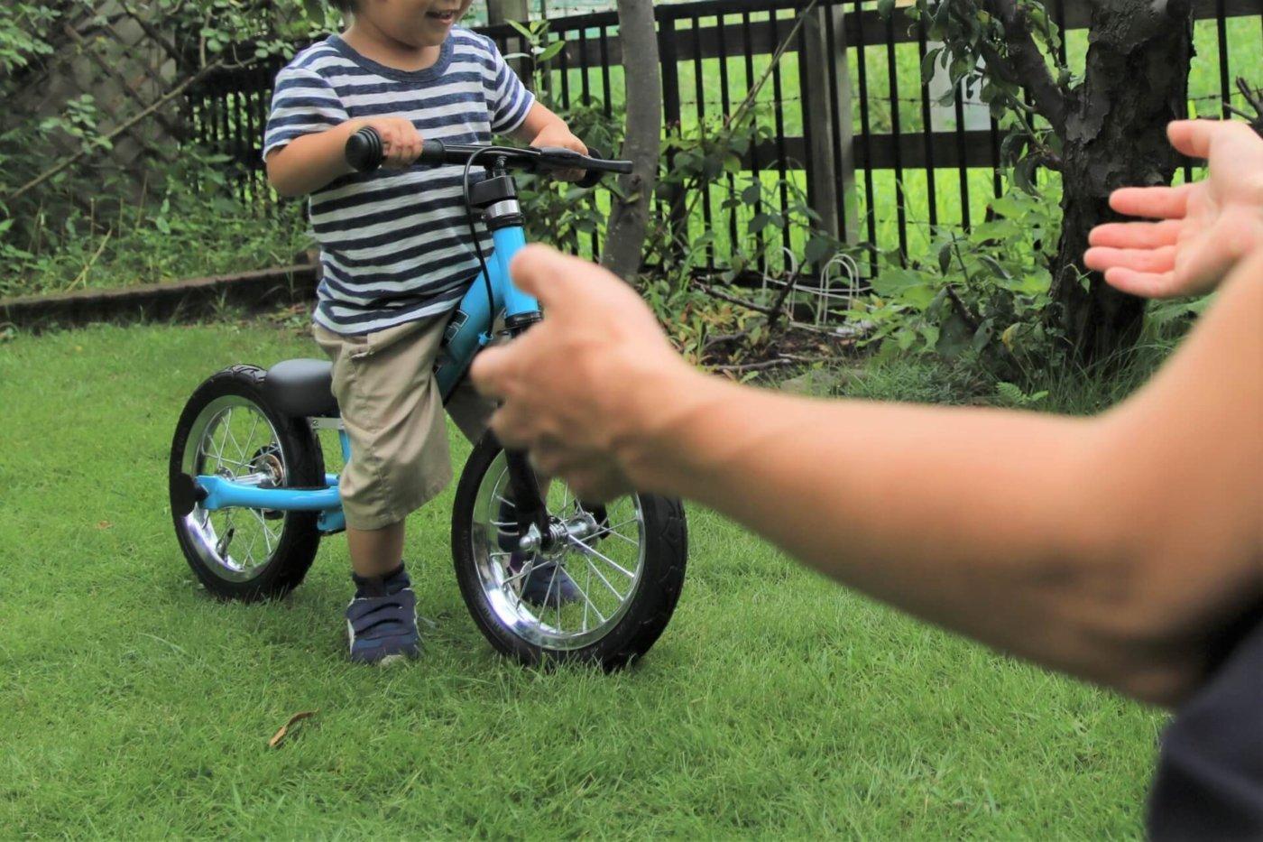 焦らずゆっくり始めよう!幼児にオススメしたいランニングバイク